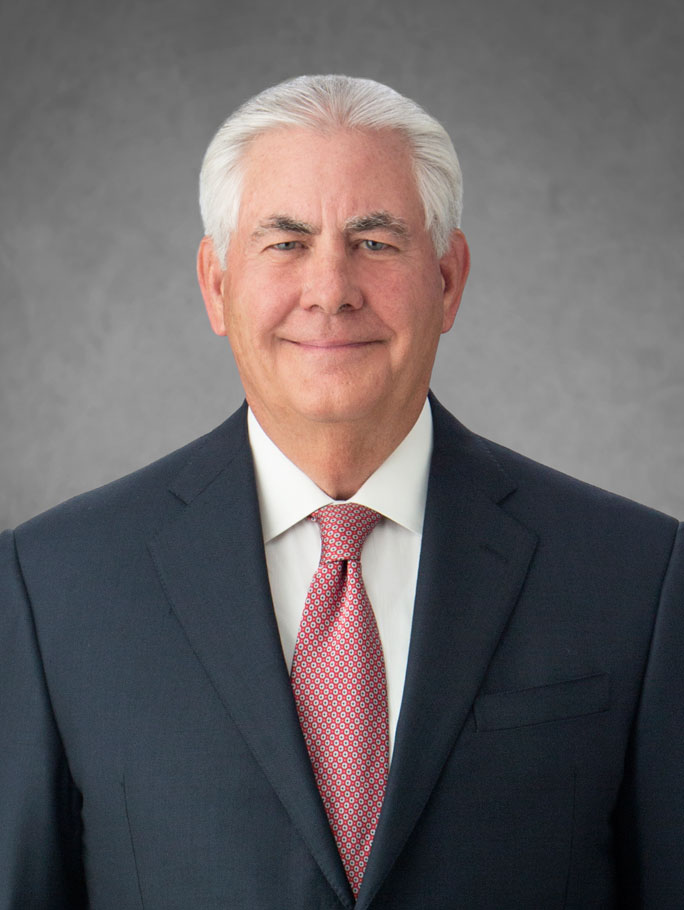 Rex Tillerson to retire, Darren Woods elected Chairman and CEO of ExxonMobil ...