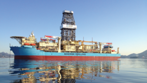 The initial infrastructure tests for the project were conducted on the Maersk Voyager (pictured), and the pilot project will be carried out on one of Maersk Drilling's XLE rigs.