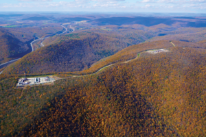 Patterson-UTI Drilling and Universal Well Services, both subsidiaries of Patterson-UTI Energy, drill and frac on the same ridge in the Appalachian basin.