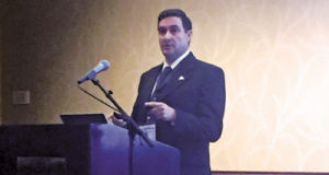 Jorge Cortes, HSE Manager-International Operations for Helmerich & Payne, explains the findings of his company's serious injury or fatality (SIF) analysis at the 2016 OSHA Oil and Gas Safety and Health Conference, held on 29 November in Houston. The analysis found that 31% of the incidents analyzed had the potential to become an SIF. The company then identified common precursors and launched the Life Belts system to address each precursor.