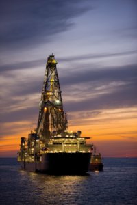 Transocean's Discoverer Inspiration drillship is working for Chevron in the US Gulf of Mexico. Chevron is starting to see more contractors look at data-driven solutions. Particularly in the deepwater sector, data is driving more repeatability that is leading to more predictability. Photo courtesy of Chevron.