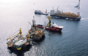 Atlantica's Delta semi-tender assist rig was delivered in mid-2016 and began working for Total in the Congo in September of that year. It was designed specifically for development drilling on the Moho Nord project. The contract duration is 3 1/2 years.