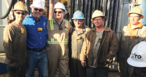 On 20 February, Scandrill hosted US Sen. Ted Cruz (R-TX) at an XTO Energy drilling location in the Permian Basin. He observed the Scan Gold, a rig rated to drill to 20,000 ft with an advanced walking system and a 7,500-psi mud system. Sen. Cruz visited operations to get a firsthand look at energy development activities in the Permian Basin. He also met with community and business leaders to hear their ideas on how Washington can better enable them to create more opportunities in the communities in which they serve and operate.