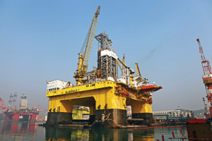 The Bluewhale 1, built by Yantai CIMC Raffles Offshore, is the first turnkey project for a Chinese offshore ultra-deepwater field.