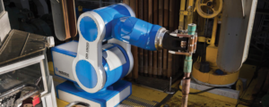 Odfjell Drilling is planning to install a robotic drill floor on the Deepsea Atlantic semi this summer. The drill floor robot uses tools such as grippers and spinners to fully automate drill floor operations.