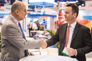 IADC President Jason McFarland (right) and IBP Secretary-General Milton Costa Filho signed a memorandum of understanding (MOU) on 4 May at the 2017 OTC in Houston. The MOU establishes a framework through which the organizations will cooperate to improve the upstream oil and gas industry in Brazil.