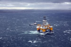 Odfjell's sixth-generation semisubmersible Deepsea Aberdeen is working for BP on its Quad 204 development.