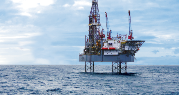 The ENSCO 120 jackup is scheduled to begin a three-year drilling program in the North Sea in July. It was the first rig equipped with Ensco's Canti-Leverage Advantage system, which enhances the rig's hoisting capacity at the farthest reaches of the cantilever when the rig is fully skidded out, leading to fewer rig moves on multiwell programs.