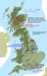 The UK's highest percentage of economic inactivity is concentrated in Northeast England. Image courtesy of the Oil and Gas Authority