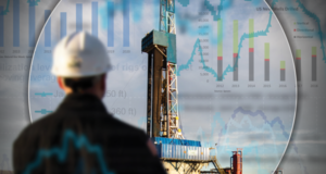 US land is likely to remain one of very few bright spots among the world's drilling markets in 2018. Photo Courtesy of Hess Corp.