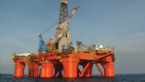 The Capercaillie and Achmelvich wells, located in the Central North Sea and West of Shetland, were drilled by the Paul B Loyd Jr semi in 2017. Photo Courtesy of BP.