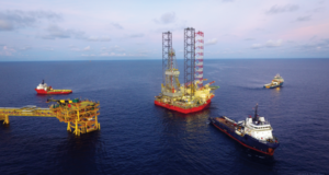 UMW's NAGA 8, like the company's other six jackups, is working in Malaysia. Over the past year, the company has reactivated five of its seven rigs, demonstrating an increase in rig demand. Compared with the approximately 20% utilization UMW saw in 2016, utilization in 2017 topped 90% and is expected to remain relatively unchanged this year.