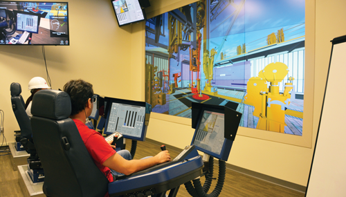 Real-time eye tracking has the potential to be used on drilling rigs to track the situational awareness of drillers, Raj Kiran, a PhD candidate at the University of Oklahoma, said at the 2018 IADC/SPE Drilling Conference in Fort Worth, Texas, on 7 March. A test of the eye-tracking technology, conducted at OU's virtual reality drilling simulator, found that it has strong potential applications on drilling rigs to track how decisions are made, as well as enable better decision making. During the test at OU, participants wore eye-tracking glasses while eye-tracking information was displayed on the left-most monitor in real time.