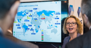 Wood Mackenzie is forecasting a number of offshore FIDs for 2018, including FIDs for Eni's Argo cluster in the Adriatic Sea and ExxonMobil's Domino and Pelican Fields in the Black Sea, Julie Wilson, Research Director, Global Exploration, said at the 2018 OTC in Houston on 30 April.