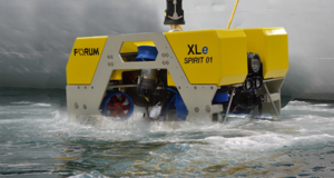 Forum's ROV, the XLe Spirit
