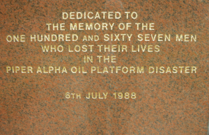 While the direct memory of Piper Alpha will diminish as older workers retire and younger workers take their places, the lessons of Piper Alpha are embedded in regulations and will not be forgotten.