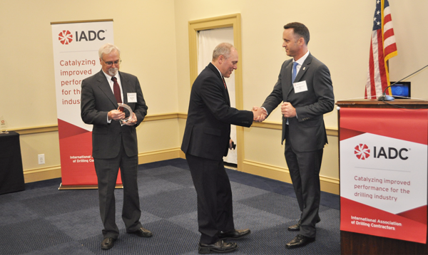From left to right: Steve Brady, Ensco; Representative Steve Scalise (R-LA); Jason McFarland, IADC