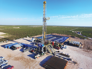 ShaleDriller 211 works in the Permian Basin for Parsley Energy.