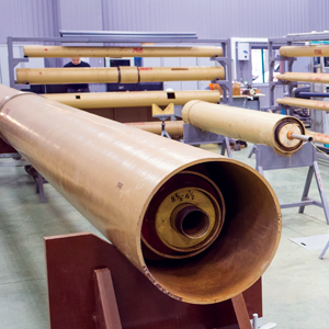 A wide range of tubulars are tested in the EmPulse characterization facility at TGT Oilfield Services' technology center in Kazan, Russia, to ensure accurate metal wall thickness measurements. Wall thickness is an indicator of barrier condition.