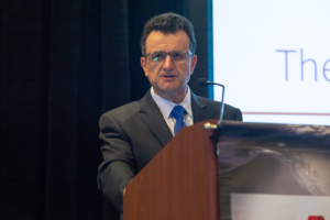 David Forbes, ConocoPhillips' GM of Global Wells, discussed new applications of data analytics during a keynote address at the 2018 IADC Advanced Rig Technology Conference, which was held 11-12 September in Austin, Texas. Mr Forbes discussed the company's automation strategy, as well as a new extended-reach drilling rig.