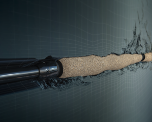 BHGE has developed GeoFORM, a sand management solution that uses an advanced shape-memory polymer technology to conform to complex well profiles, multilaterals and ultra-fine sand formations. The technology also eliminates the need for typical gravel-pack operations, which can involve a crew of 10 engineers and field specialists, as well as specialized blending and pumping equipment.