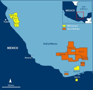 DEA will add Sierra's acreage to its existing portfolio of operated production and exploration blocks, becoming one of the largest exploration acreage holders in Mexico.