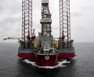The Maersk Intrepid is an ultra-harsh environment XL Enhanched jack-up rig which was the world's largest jack-up when it was delivered in 2014. It has been deployed in Norwegian waters ever since, previously working on the Sleipner and Hanz fields.