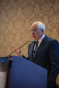 Kevin Neveu gave the keynote at the 2018 IADC Advanced Rig Technology Conference in Austin, Texas.