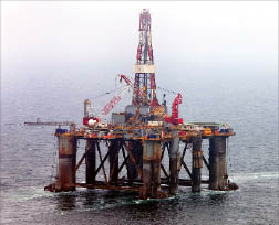 The Ocean Guardian is soon to sail for the South Atlantic. It is expected to begin drilling a minimum four-well exploratory program in the Falklands for Desire Petroleum, with the option on a further four wells depending on results.