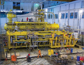 FMC's subsea separation system for Statoil's Tordis field in the North Sea was the industry's first. The company also is working on subsea separation projects for Total's Pazflor field, Shell's BC-10 and Perdido projects, and Petrobras' Marlim fields.