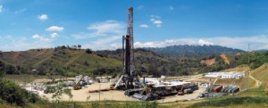 Helmerich & Payne IDC's Rig 133 is drilling in the Department of Casanare in Colombia.