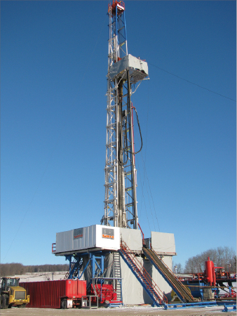 """Union Drilling CEO Chris Strong believes that the Marcellus, which currently has between 60 and 70 rigs operating, can reach the 200-rig count, where the Barnett Shale peaked. """"But it is going to require some new equipment. We are about out of rigs in other areas of our fleet that we think make sense in the Marcellus market,"""" he said."""