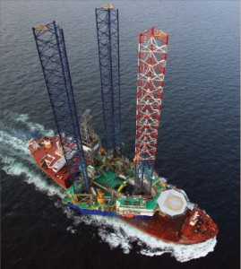 Vantage's Sapphire Driller left the Asia Pacific region for the African market after it was delivered. It recently took up post in Gabon for Vaalco Energy.