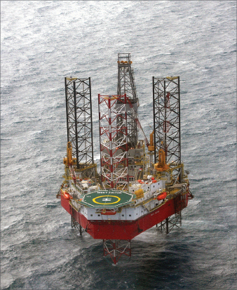 Seadrill's West Triton jackup is working in Southeast Asia for Twinza Oil.
