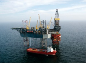 BG spudded its NCS Mandarin probe in November 2009 using the Rowan VI. The target is HPHT and could become the first Central North Sea Rotliegend discovery.