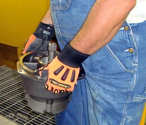 Diamond Offshore is implementing the use of more rugged gloves for its employees to help prevent hand injuries.