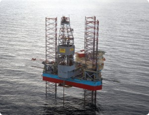 The Maersk Inspirer is one of five jackups that Maersk Drilling is operating in Norway – one of the company's most active North Sea markets.