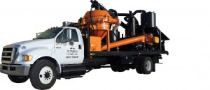 Environmental Drilling Solutions' mobile cuttings dryer unit can service multiple=