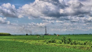 Exploratory wells previously drilled using conventional techniques in this field in Indonesia's East Java experienced significant problems with well control events. Because of poor rig performance, shale sloughing, stuck pipe and severe losses, one of the wells reached TD in 230 days rather the planned 80 days.