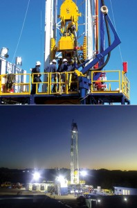 Easternwell's Rig 101 is an Advantage Drilling Rig, designed to operate in the coal seam drilling market and capable of drilling 4,900-ft directional wells.