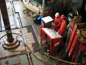 Elimination of personnel and equipment from the rig floor during casing-running operations improves safety, and the ability to immediately rotate, reciprocate and circulate the casing string enables real-time hazard mitigation.