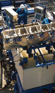 Modern cementing equipment is highly automated and process-controlled to meet rigorous standards for quality control.