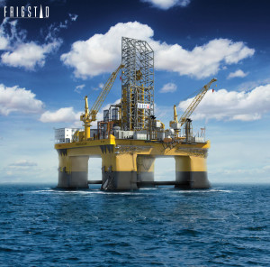 Frigstad Deepwater has awarded CIMC Raffles a contract for the delivery of two ultra-deepwater semisubmersibles.