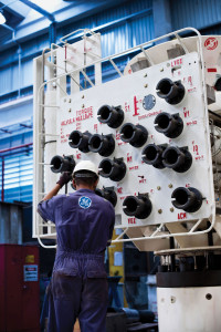 GE Oil & Gas' facility in Macaé, Brazil, specializes in drilling and subsea services. In the past 30 years, the company has produced and installed more than 180 subsea Christmas trees offshore Brazil.