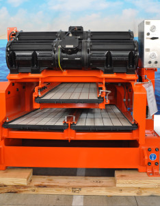 1. The MD-2 Shale Shaker is a dual-deck, flatbed shaker with full-contact composite screen technology.