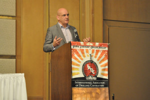 IADC president and CEO Stephen Colville announced the launch of the Well Control Institute on 19 August.