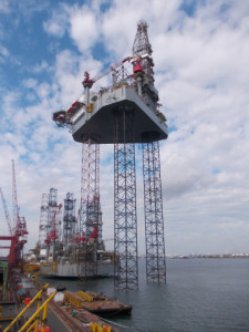 Ensco has taken delivery of the newbuild ENSCO 120, contracted to work for Nexen in the North Sea.