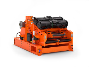 The MD-2 dual-deck, flat-bed shaker uses full-contact composite screen technology.