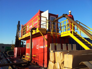 Before going offshore, Cubility completed tests over two Marcellus wells for Chevron from December 2011 to January 2012.
