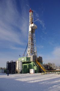 A Precision Drilling rig drills Trilogy Energy's first horizontal well in the unconventional Duvernay play in Alberta. Because Trilogy is still in the early stages of developing the Duvernay, a back-to-the-drawing-board approach will determine the best completion practices to recover the resource from this play.